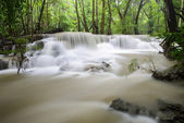 Hauy Mae Kamin Waterfall, Kanchanaburi, Thailand