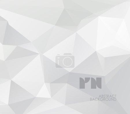 Illustration pour Fond géométrique abstrait, conception polygonale . - image libre de droit
