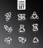 Business Design elements ( icon ) set for print and web vector