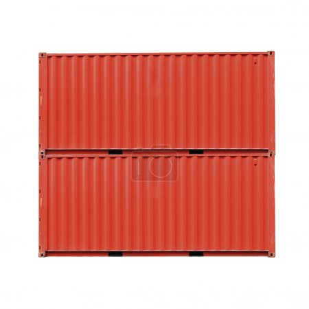 Cargo container front side