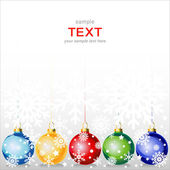 Happy New Year greeting card or background