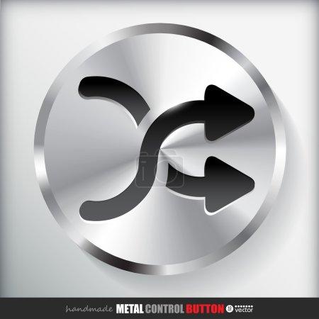 Metal Shuffle Button