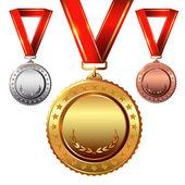 Empty Award Medals