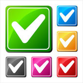 V - Validation icons set