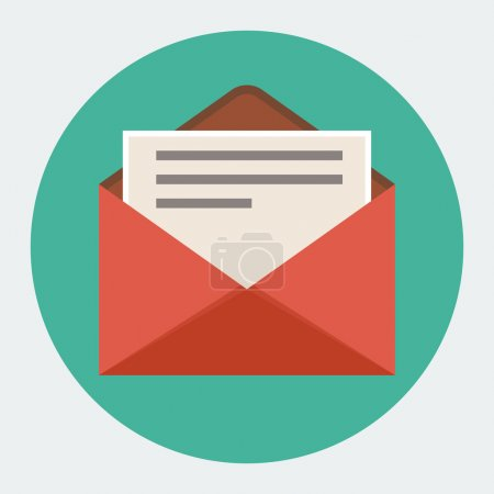 Vector Flat mail icon