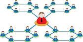 Business organization icon