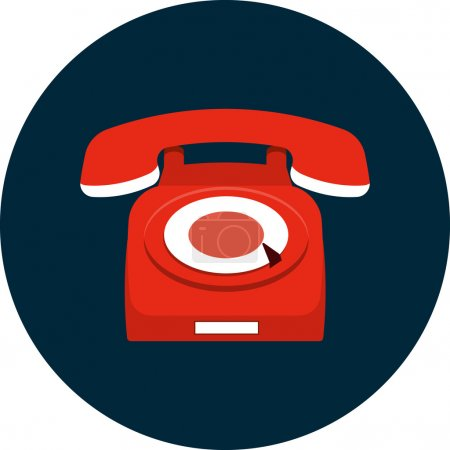 Vector Phone Flat Icon