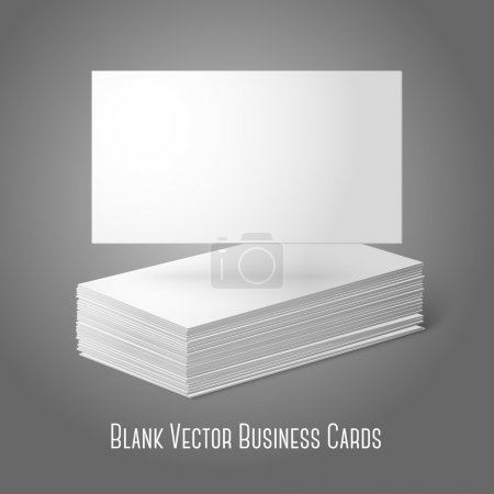 Blank  business cards  template