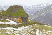 Teito (Traditional shepherd house) in Somiedo Natural Park, Astu