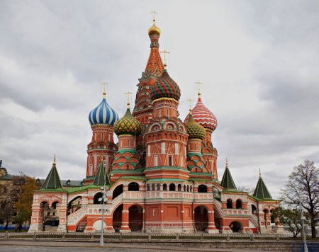 Saint Basil's Cathedral, Moscow, Russia.