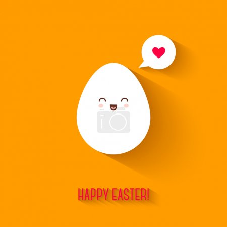 White Easter egg.