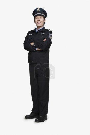 Policeman Standing