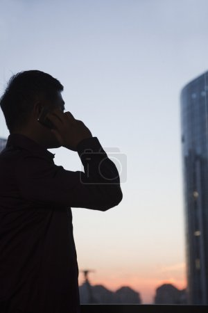 Businessman On the Cell Phone