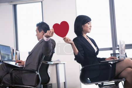 Work romance between two business people