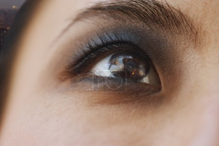 Photo for Smoky Eye Close-Up - Royalty Free Image
