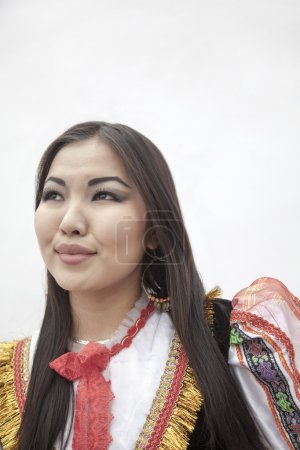 Woman in traditional clothing
