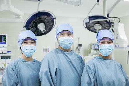 Surgeons in the operating room
