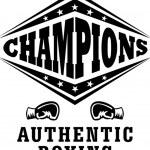 Champions boxing vector...