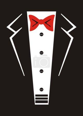 Tuxedo with bow tie