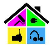 Domácí nástroje logo