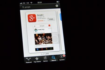 Google плюс приложение