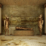 Pharaoh's Tomb ( 3d rendering )...