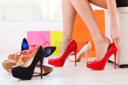 Choosing the perfect pair.