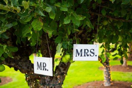 M. et Mme Signes au mariage