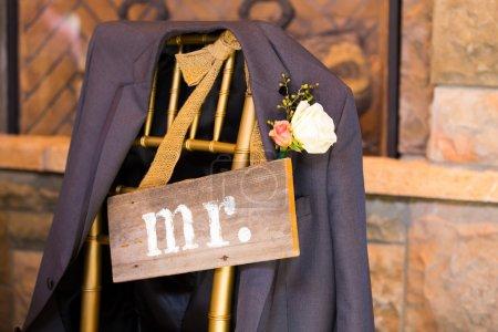 Décor de mariage Mr et Mme Signer