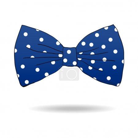 Bow tie. Vector illustration