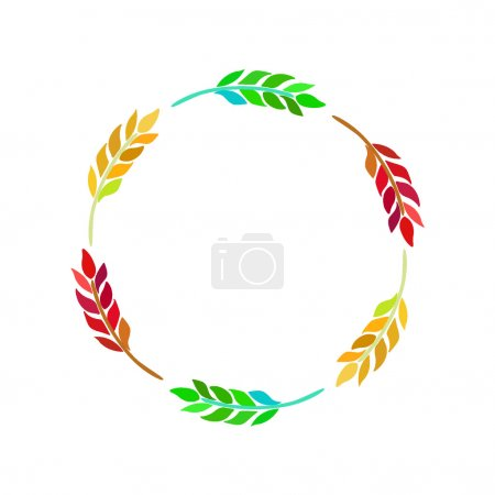 Illustration for Ears of Wheat, Barley or Rye. Vector illustration. - Royalty Free Image