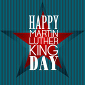 Happy Martin Luther King Day american