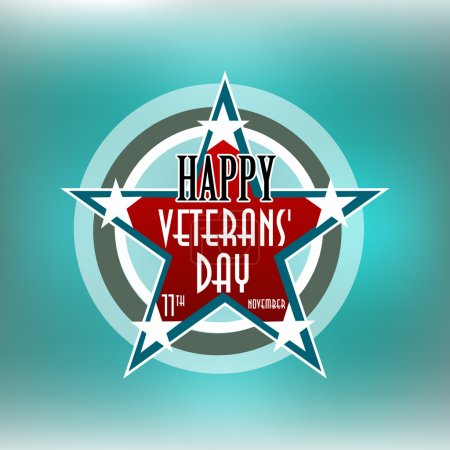 Happy Veterans Day american