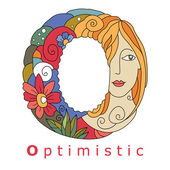 Letter O - optimistic