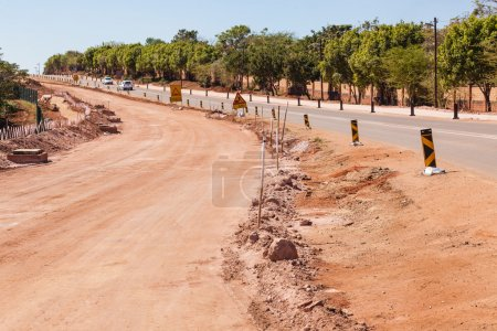 Road Widening Civil Construction