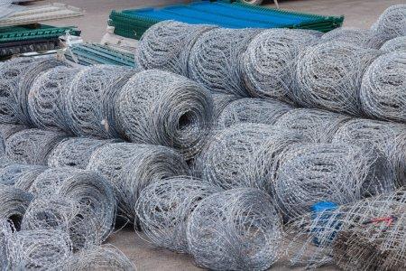Steel Razor Wire Rolls Security