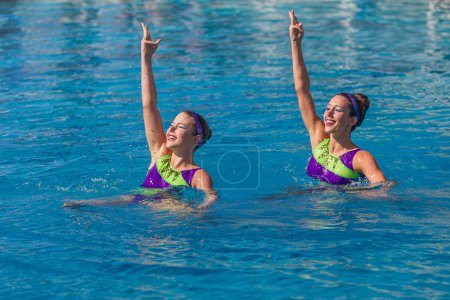 Aquatic Synchronized Swimming