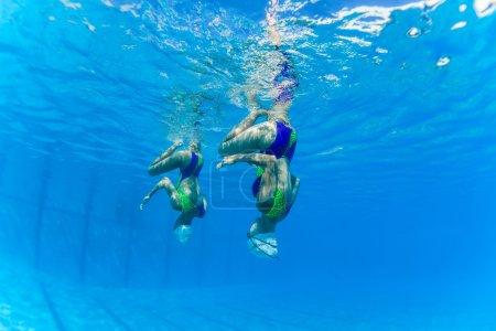 Aquatic Synchronized Swimming