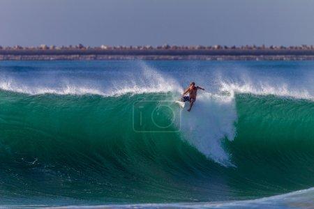 Surfer Wipeout Crashing Wave