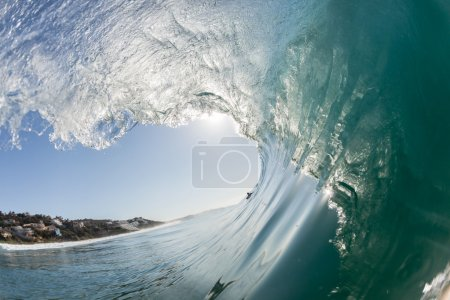 Ocean Wave Blue Hollow