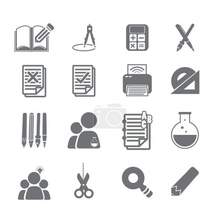 tools learning  icon set 2