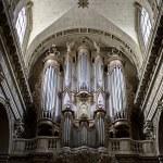 Ornate Cathedral Pipe Organ in Ile Saint Louis, Pa...