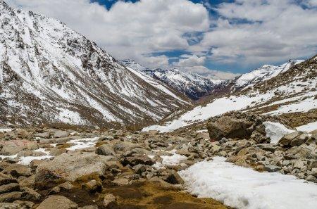 Foto de Tíbet. Monte kailash. Drolma la pass. - Imagen libre de derechos