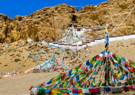Khyunglung caves in the Garuda Valley, Tibet Autonomous region of China.