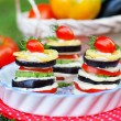 Постер, плакат: Tasty appetizer of grilled vegetables