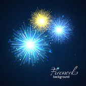 Holiday  fireworks background