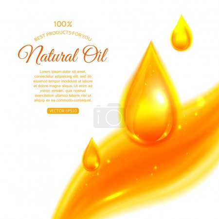 Clean oil background