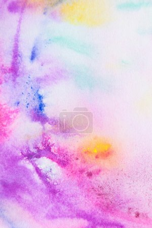 Pink watercolor painting background