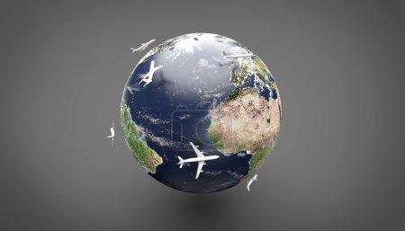 Earth - Orbitting Planes