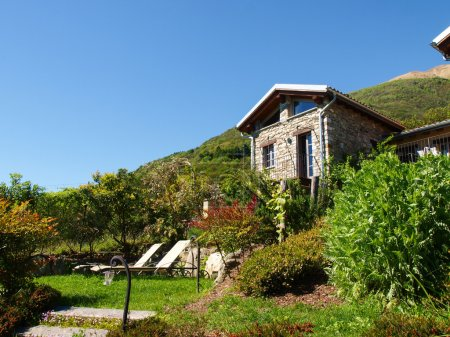 Panorama of the farm holidays Tre Terre